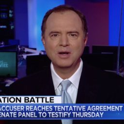 Adam Schiff: GOP 'Simply Not Interested in Whether Brett Kavanaugh Committed Attempted Rape'