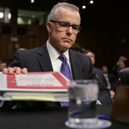 Andrew McCabe Reveals Book Title, Claims Trump 'Undermining America's Safety'