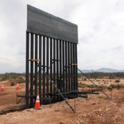 Border Wall Construction Begins in El Paso, Texas