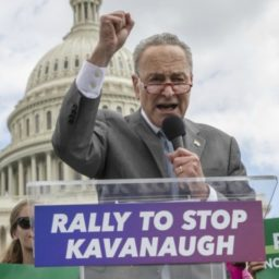Chuck Schumer Calls for Delay of Kavanaugh Confirmation Vote to Investigate 'Rape Attempt' Accusation