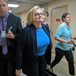 Claire McCaskill Voting 'No' on Kavanaugh, 'Troubling' Allegations Not a Factor