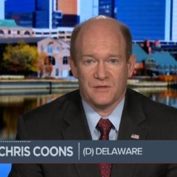 Coons: 'I Have Made Up My Mind That I'm Voting Against Judge Kavanaugh'
