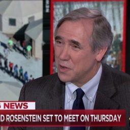 Dem Sen Merkley: Rosenstein Ouster 'Could Deeply Compromise Congress Getting the Details' of Mueller's Investigation