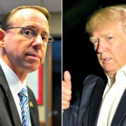 Donald Trump Delays Meeting with Rod Rosenstein