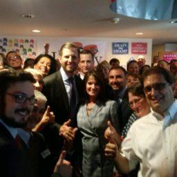 Eric Trump Campaigns for Diane Harkey — and Against Nancy Pelosi — in California