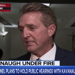 Flake: Would Be 'Disqualifying' if Kavanaugh Incident Occurred as Described