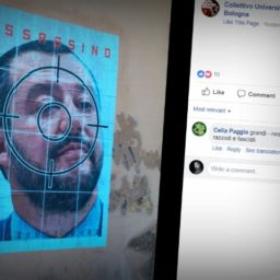 Italian University Leftists Put Up Posters Calling for Assassination of Salvini