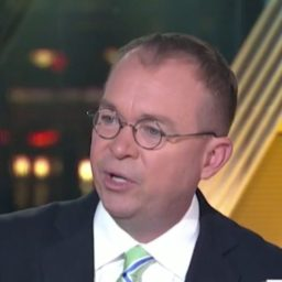 Mulvaney: Trump Won't Shut Down Government Before Midterms