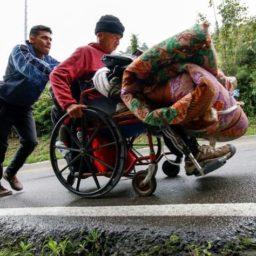 Paraplegic Man Flees Venezuela on Wheelchair in Search of Medicine