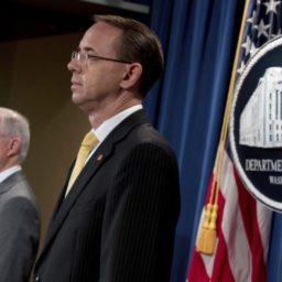 Report: Rod Rosenstein Offers Resignation to John Kelly