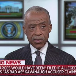Sharpton: Trump's Tweet About Kavanaugh Accuser Put Confirmation in 'Jeopardy'