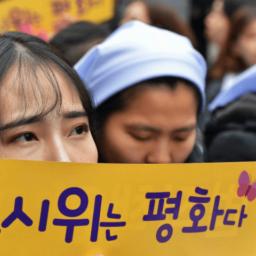 South Korean and Japanese Leaders Clash over 'Comfort Women' at U.N.
