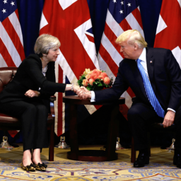 Trump, May Discuss 'Big and Ambitious' Brexit Trade Deal, But Brit PM Critical on U.S. Iran Policy
