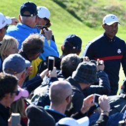 Woods Back on Top, Bidding to End Ryder Cup Struggles