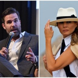 Actor Rob Delaney Compares Melania Trump to a Nazi