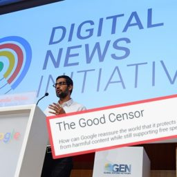 Bokhari: In 'The Good Censor,' Google Admitted to Censorship — And The Media Ignored It