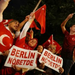 Cars with Turkish Elite Police Markings Spotted Patrolling Berlin Streets