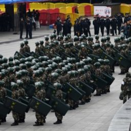 Elderly Chinese Army Veterans Stage Massive Protest Against Police Beatings