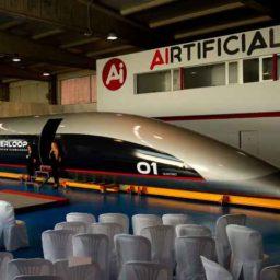 Elon Musk's Hyperloop Reveals New 'Passenger Capsule'