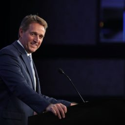 Flake: I Hope Someone Runs Against Trump in 2020 Primary