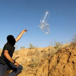 Gaza Terror Group Boasts First Ever Incendiary 'Blimp' Launched Over Border