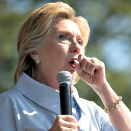 Hillary Clinton Suffers Coughing Fit at Oxford University