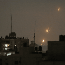 Israeli Mother Rushed Kids into Bomb Shelter Seconds Before Rocket Exploded