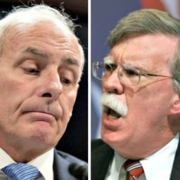 John Bolton and John Kelly Clash Over Border