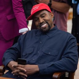 Kanye West Meets Uganda's President, Yoweri Museveni, Gifts Pair of Sneakers