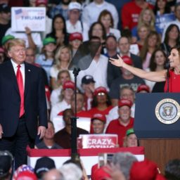 Martha McSally Campaigns with Donald Trump: 'Build the Wall!'