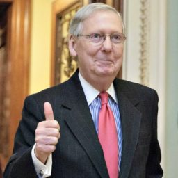 Mitch McConnell Thanks Anti-Kavanaugh 'Mob': A 'Great Political Gift for Us'