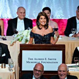 Nikki Haley Roasts Elizabeth Warren's 'Failed' DNA Test at Charity Dinner