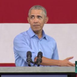 Obama: If GOP Really Cared About Hillary's Emails, They'd Be 'Up In Arms' Over Trump's iPhone