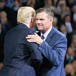 Trump Rallies for Kris Kobach: He'll Be a 'Great, Great Governor' and 'Tireless Champion for Border Security'