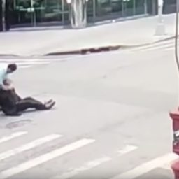 VIDEO: Orthodox Jewish Man Beaten in Brooklyn; Assailant Charged with Hate Crime