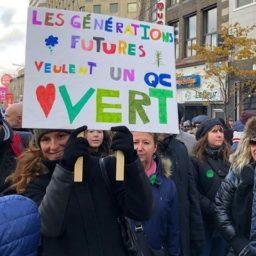 50,000 Parka-Clad Canadians Protest Global Warming