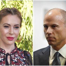 Alyssa Milano Disavows Michael Avenatti After Domestic Violence Arrest: 'Totally Disgusting'
