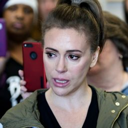 Alyssa Milano Offers Ruth Bader Ginsberg Her Ribs, 'Kidney and a Lung'