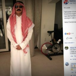 Brazilian Footballer in Germany Forced to Apologise for 'Arab Bomber' Halloween Costume