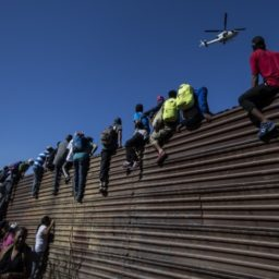 Caravan Migrants at Border: 'Let Us Cross,' Trump 'Treats Us Like Garbage'