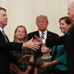 Donald Trump and Melania Trump Visit Supreme Court for Brett Kavanaugh Investiture