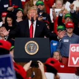 Donald Trump in Indiana: If You Don't Want to Say 'Speaker Pelosi' for Next 2 Years, 'You Gotta Go Out and Vote'
