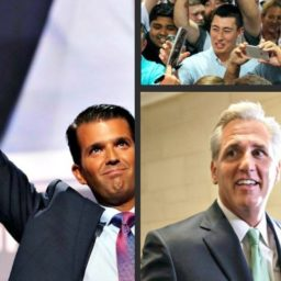 Exclusive — Donald Trump, Jr., Kevin McCarthy to Host Tele-Townhall with One Million Low-Propensity GOP Voters Ahead of Midterms