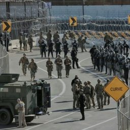 Exclusive–Kris Kobach: DHS Must Enlist Police in Midst of Caravan, Border Wall Needs to Be Funded Immediately