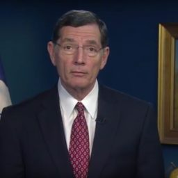 GOP Conference Chair Barrasso: We're Confirming Judges 'With or Without Jeff Flake'