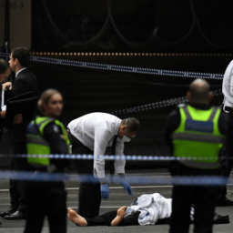 Graphic Video: One Dead, Two Injured as Knife-Wielding Terrorist Attacks in Australia