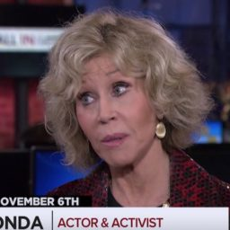 Jane Fonda: 'People Are Woke,' Millennials Motivated for Midterms