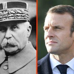 Macron's Praise for Nazi Collaborator Marshal Petain Shocks French Jews