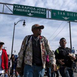 Mexican Government Aids Trump Border Reforms by Helping U.S. 'Meter' Caravan Asylum-Seekers