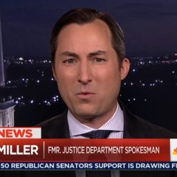 MSNBC's Miller: People Need to 'Take to the Streets' Over Sessions Firing, Appointing Whitaker